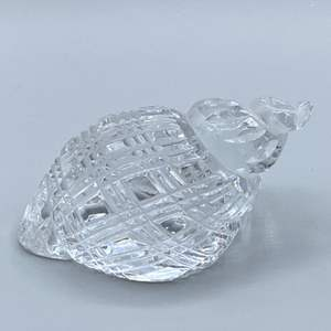 Lot # 165 - Waterford crystal shell
