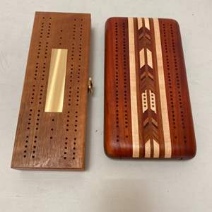 Lot # 194 - Cribbage and dominos