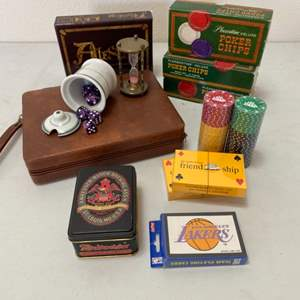 Lot # 195 - Various games with branding promotional items