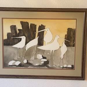 Lot # 198 - Mimi Harvey Original watercolor painting