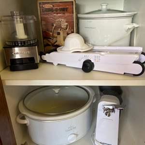 Lot # 205 - Mandolin and other small appliances