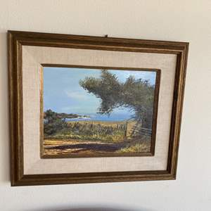 Lot # 218 - Ray Smith original coastal painting