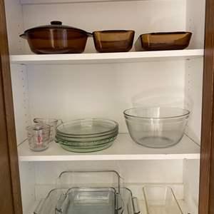 Lot # 229 - Anchor Hocking bake ware