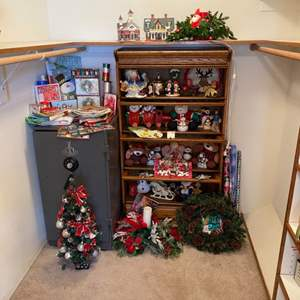 Lot # 242 - CHRISTMAS IS COMING! (Safe and bookcase not included)