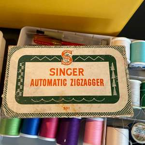 Lot # 254 - Sewing accessories (that go with lot 253)