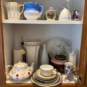 Lot # 266 - Vintage porcelains & bells