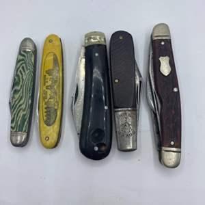 Lot # 313 - Pocket knives