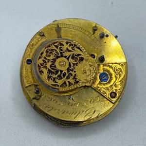 Lot # 329 - Pocket watch movement