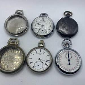 Lot # 330 - Pocket watches in various conditions