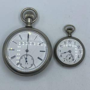 Lot # 331 - Elgin and Ideal pocket watches