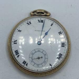 Lot # 332 - Howard pocket watch
