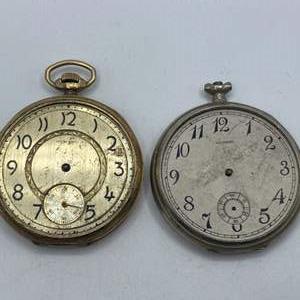 Lot # 333 - Howard pocket watches not running