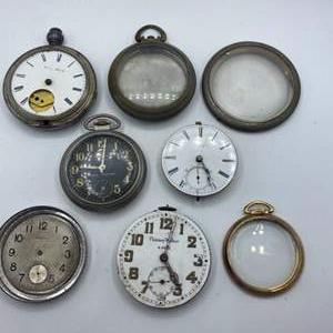 Lot # 334 - Pocket watches various conditions