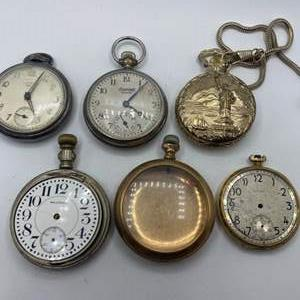 Lot # 335 - Pocket watches various conditions