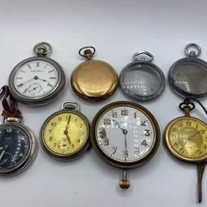 Lot # 336 - Pocket watches various conditions