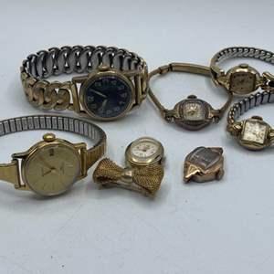 Lot # 345 - Helbros, Bulova, Elgin, Aerole, Timex