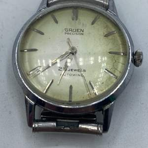 Lot # 352 - Gruen SS WW 25 jewel