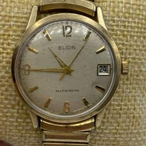 Lot # 356 - Elgin automatic 17 jewel ticks