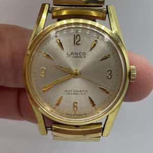 Lot # 368 - Lanco 17 jewel automatic runs