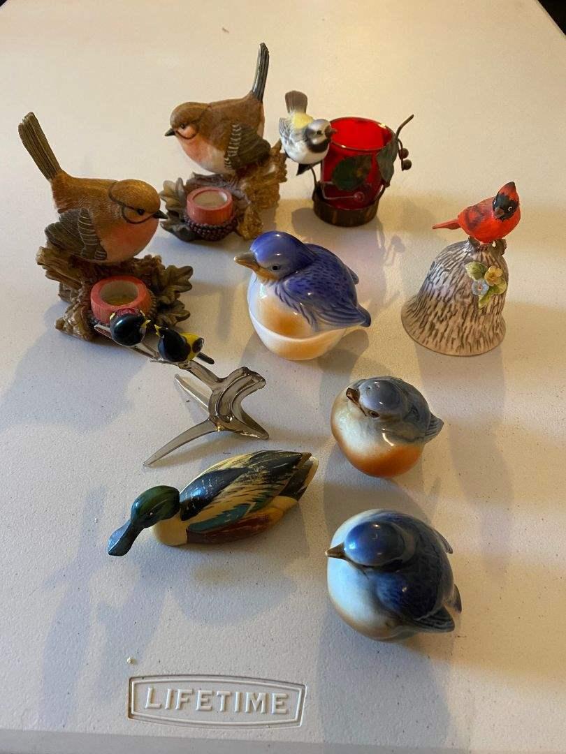 Lot # 68 - BIRD COLLECTIONS (main image)