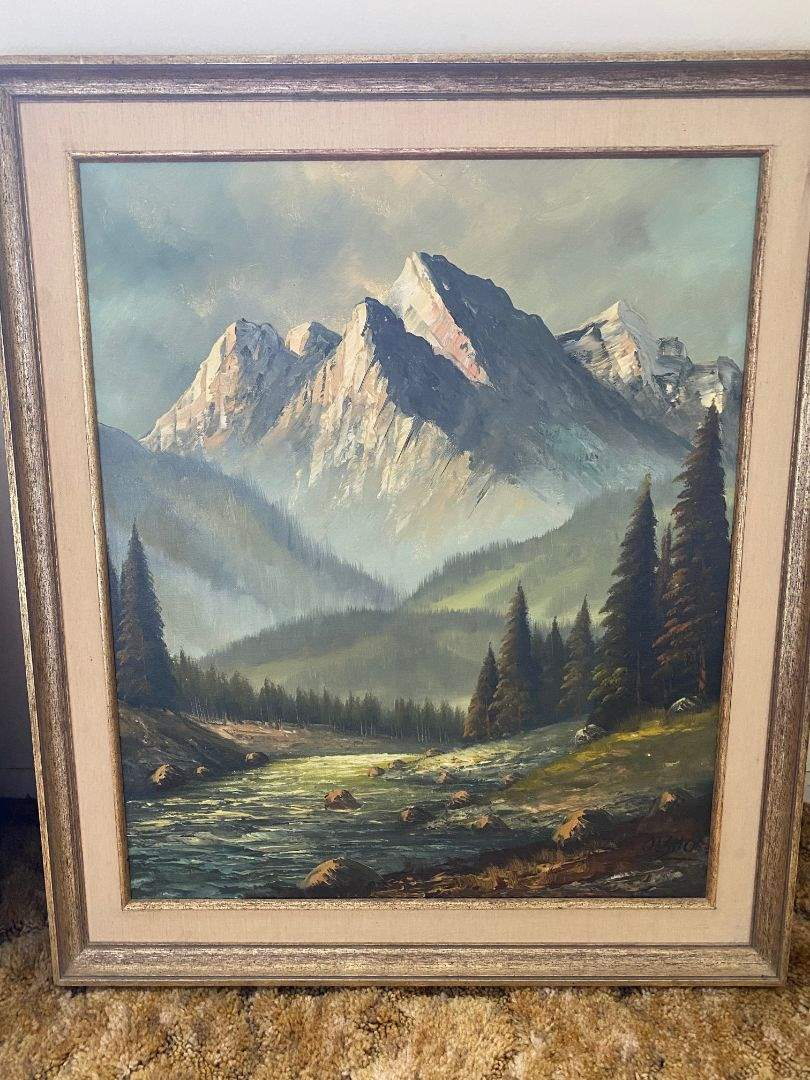 Lot # 158 - ORIGINAL PAINTING (main image)