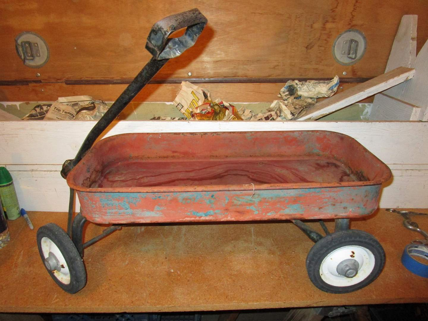 Lot # 72 - Red Wagon (main image)
