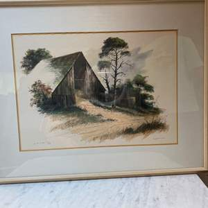 "Auction Thumbnail for: Lot # 32 - ""IN THE PINES"" BY ROBERT CLARK 59/200"