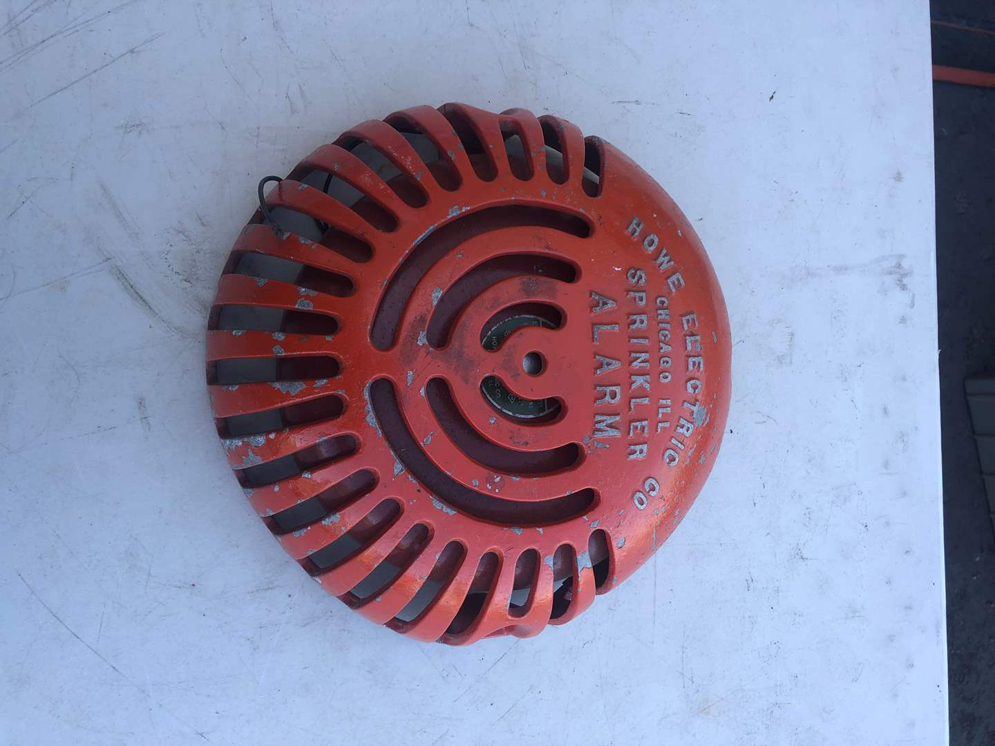 Lot # 80 - FIRE ALARM WITH BELL (main image)