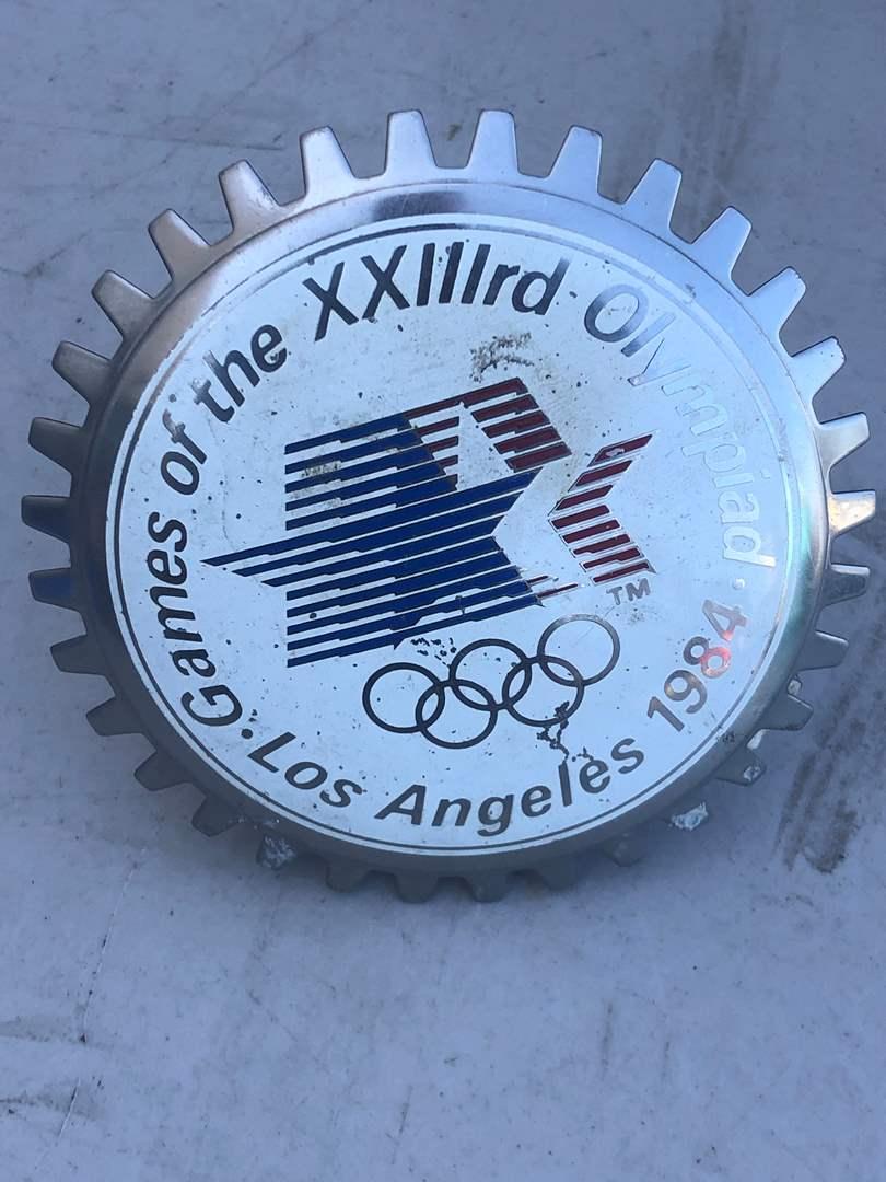 Lot # 83 - OLYMPIC CAR BADGE 1984 (main image)