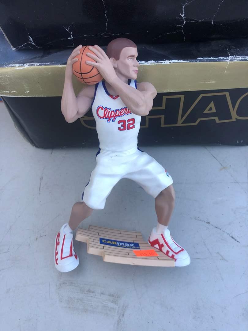 Lot # 84 - NBA FIGURINE / SHAQ SHOES (main image)