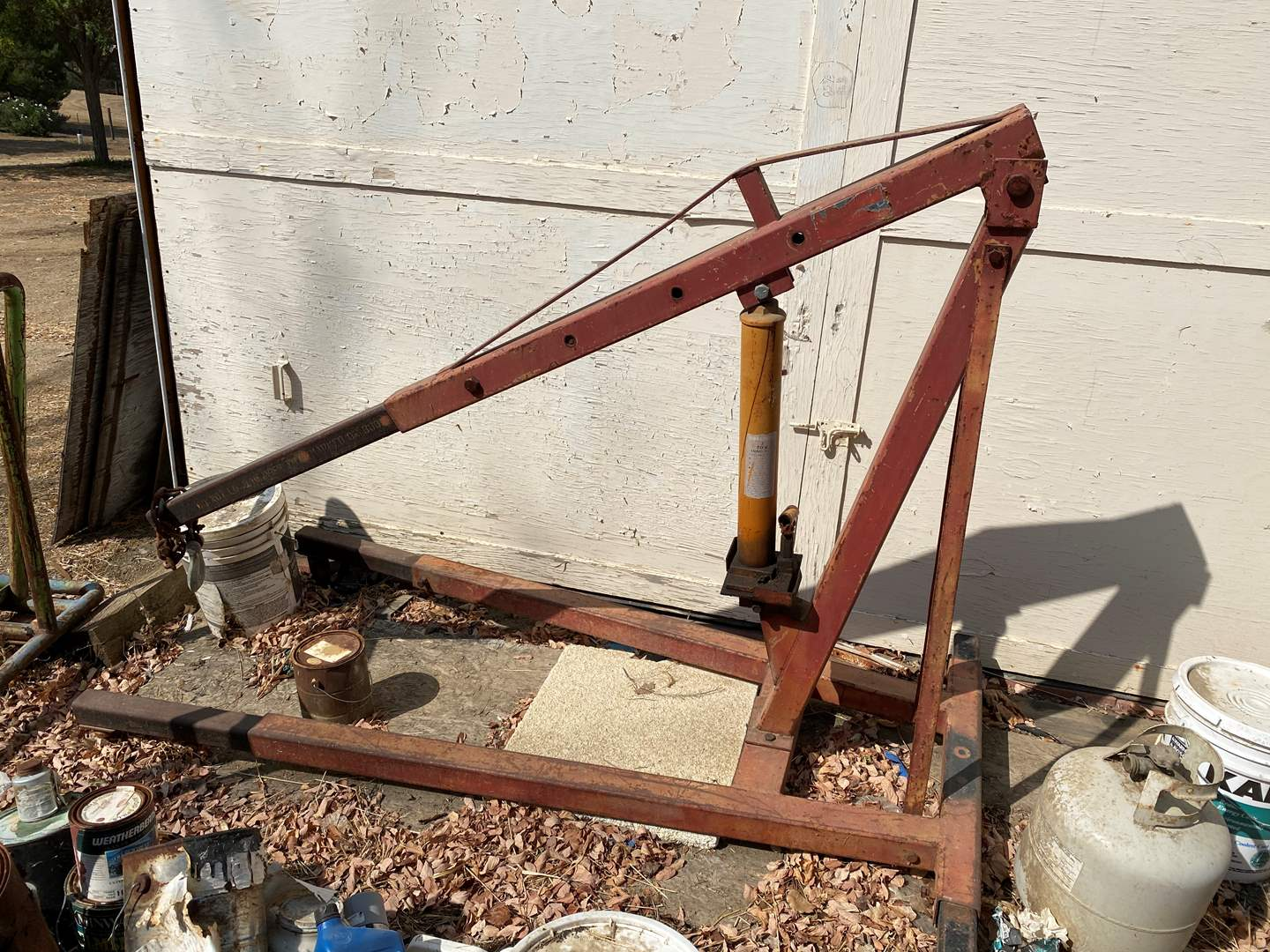 Lot # 5 - 3 TON ROLLING ENGINE HOIST (main image)