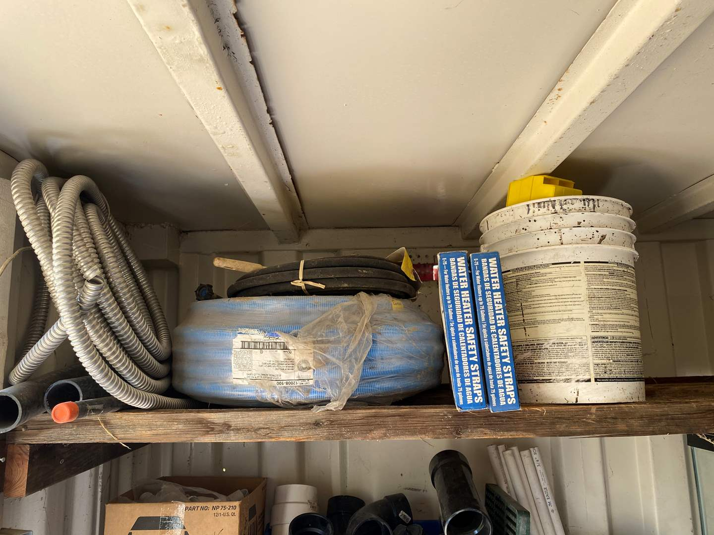 Lot # 67 - MISC. PLUMBING AND ELECTRICAL  (main image)