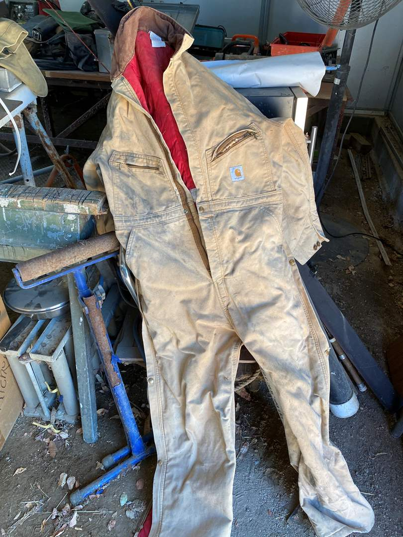 Lot # 86 - INSULATED CARHARTT COVERALLS (main image)