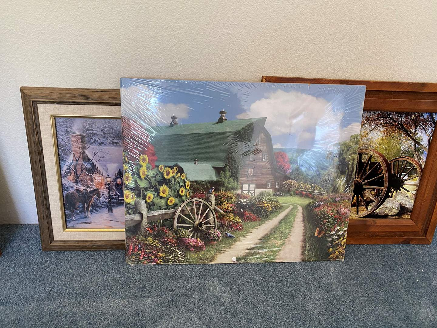 Lot # 147 - SEVERAL PIECES OF ART (main image)