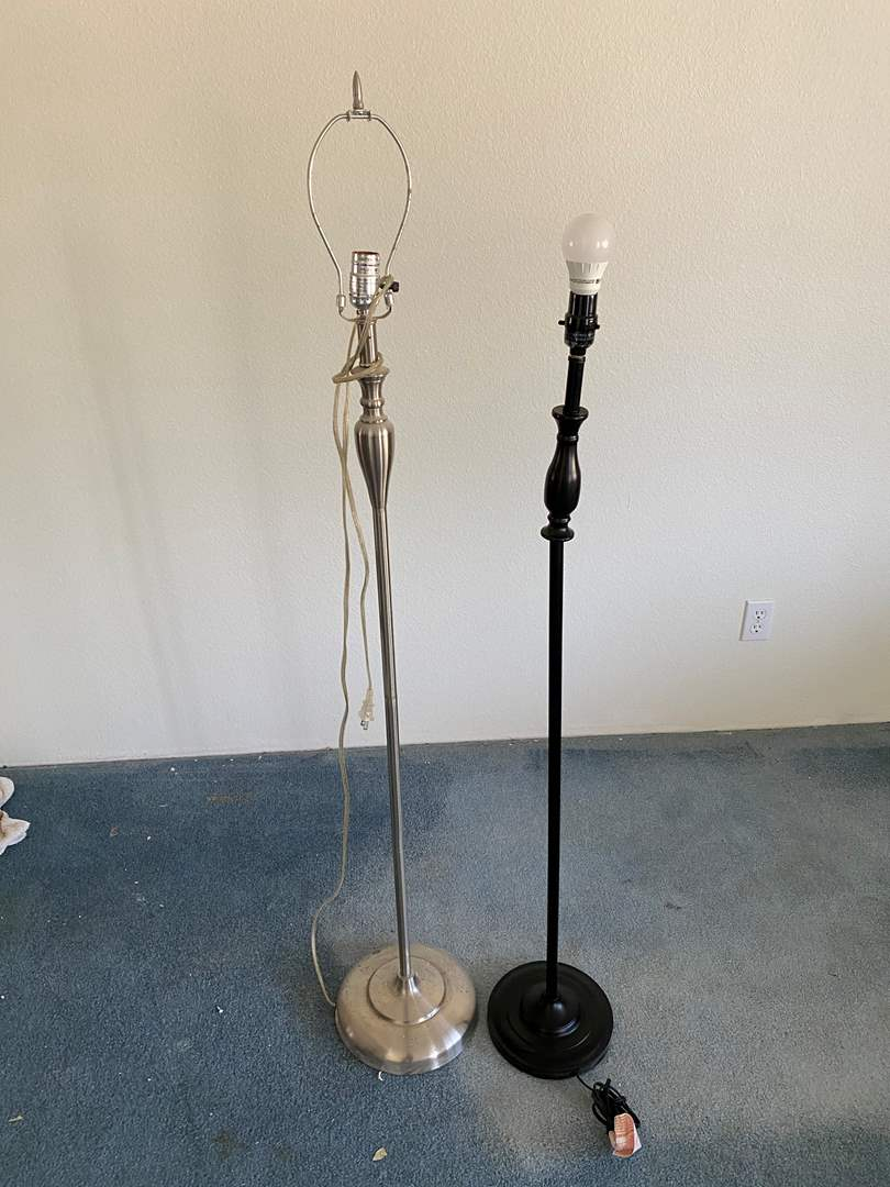 Lot # 152 - FLOOR LAMPS (main image)