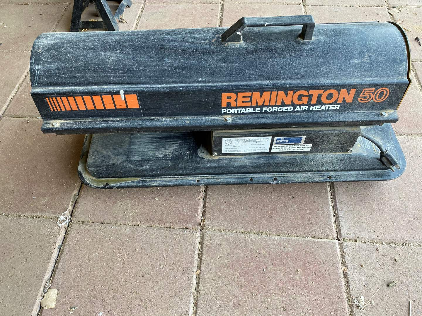 Lot # 155 - REMINGTON 50 FORCED AIR HEATER (main image)