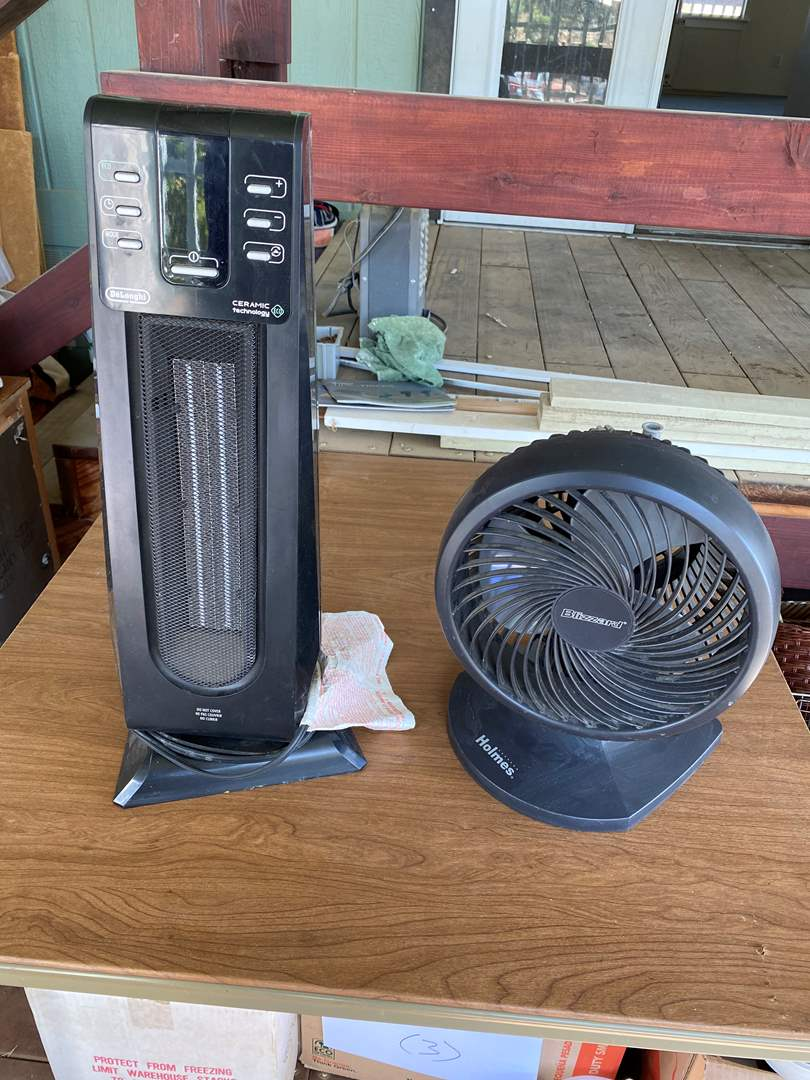 Lot # 187 - HEATER AND FAN (main image)