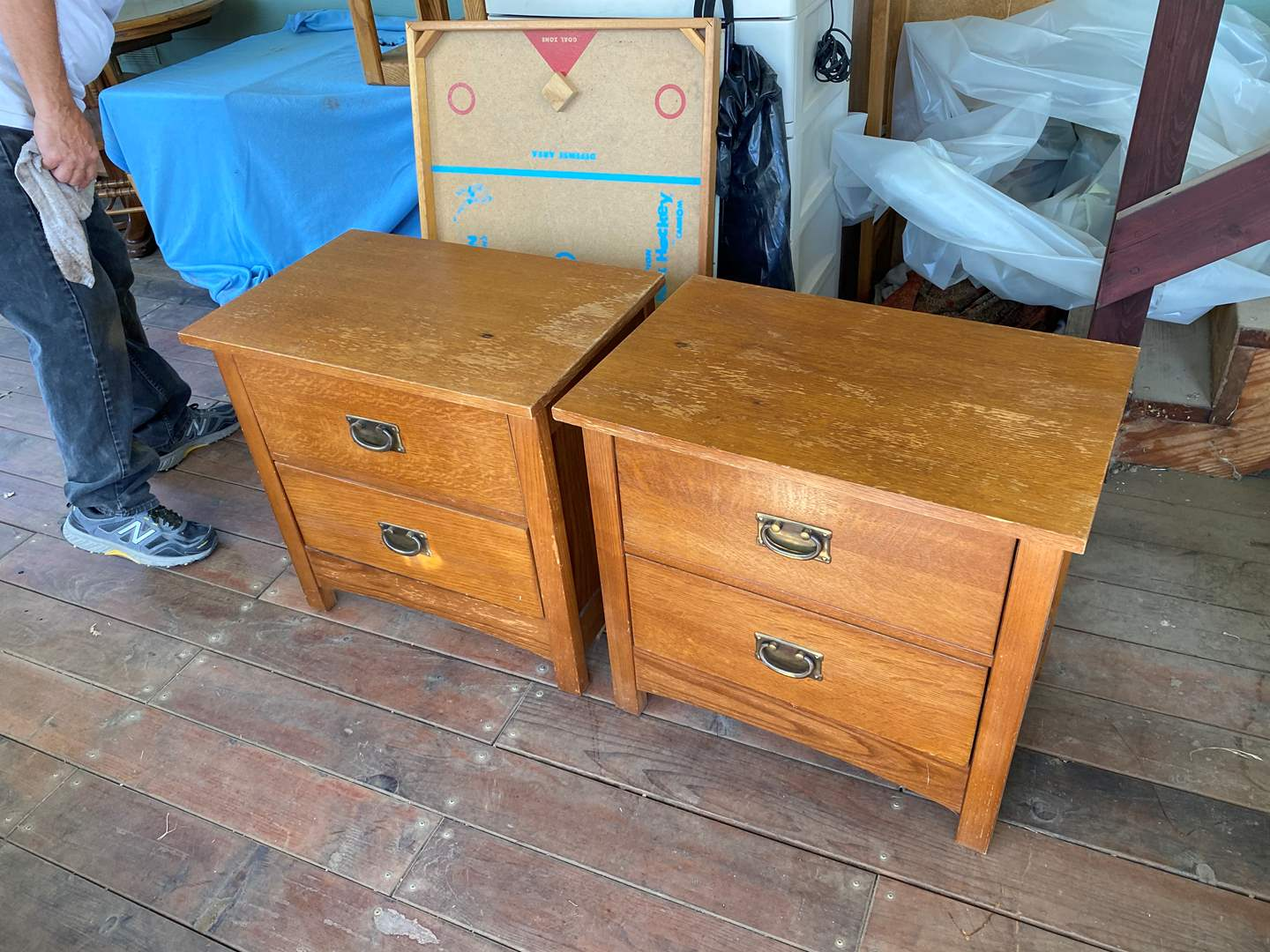 Lot # 197 - MATCHING END TABLES (main image)