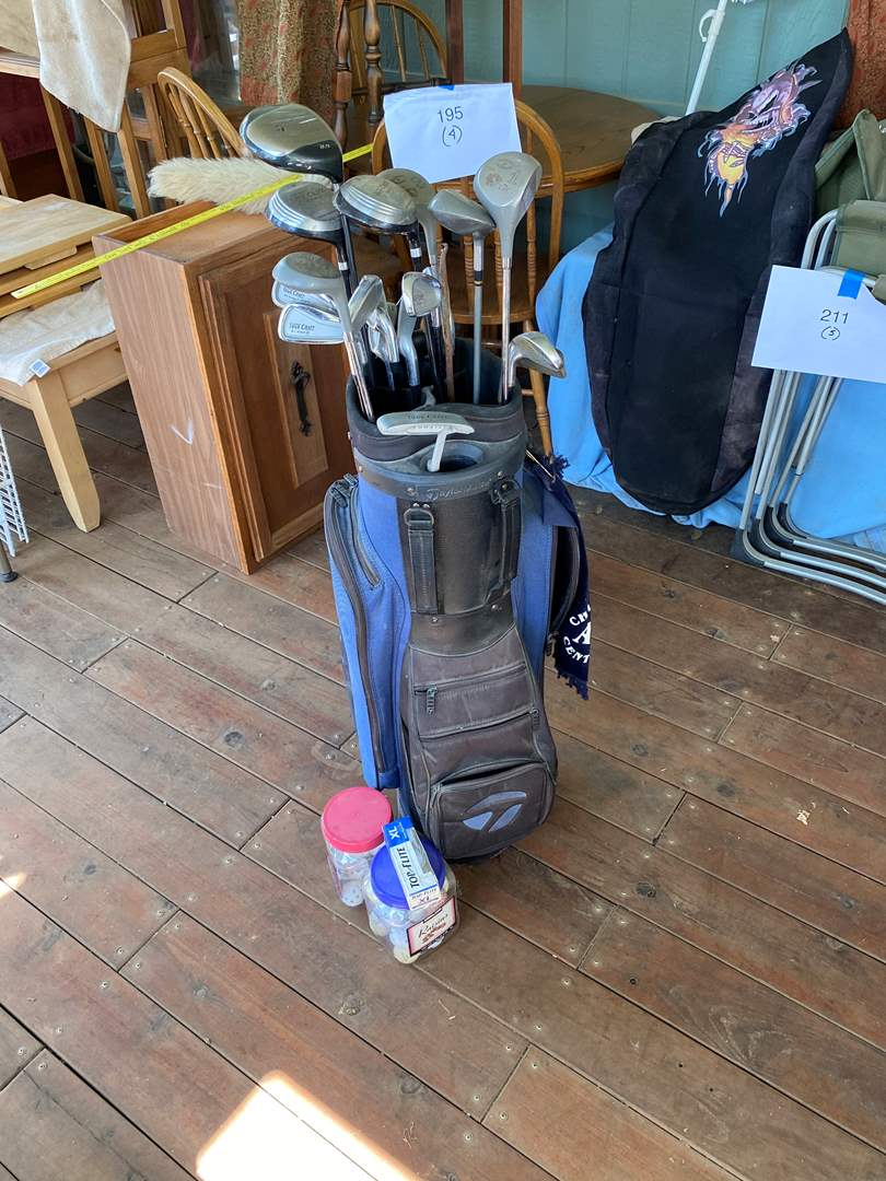 Lot # 212 - GOLF CLUBS (main image)