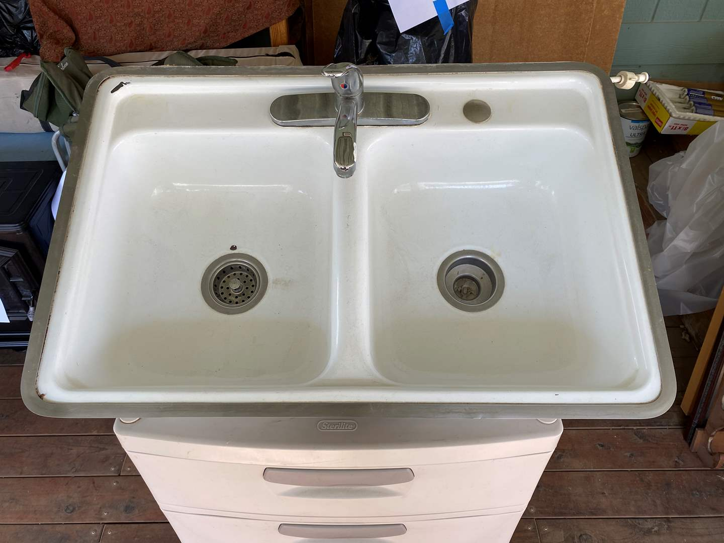 Lot # 217 - DOUBLE SINK (main image)