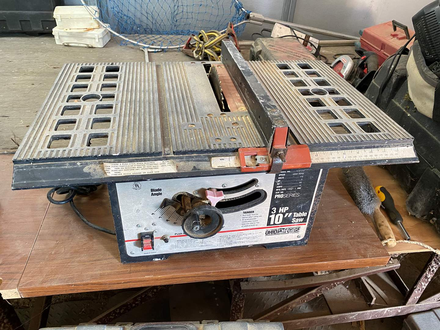"Lot # 245 - 10"" TABLE SAW (main image)"