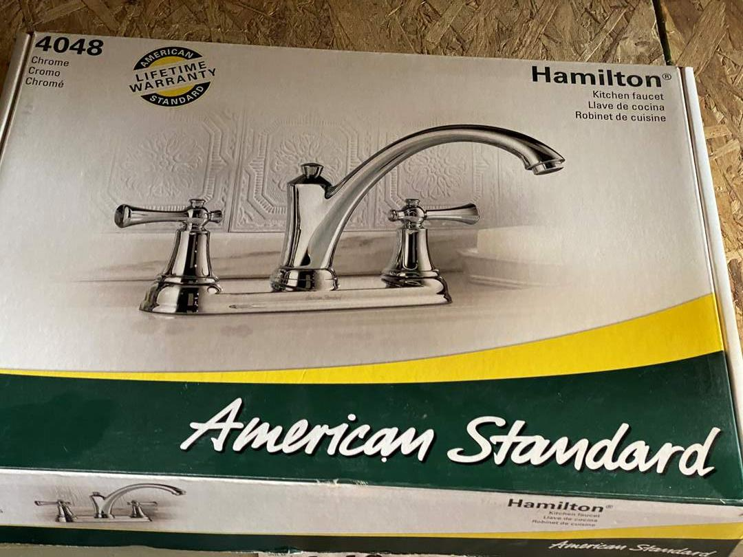 """Lot # 59 - AMERICAN STANDARD """"NEW IN THE BOX"""" FAUCET (main image)"""