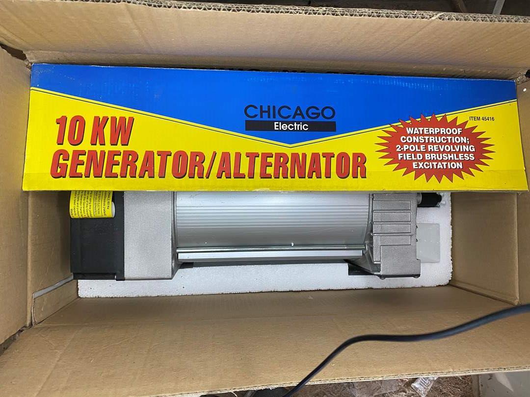 Lot # 71 - 10 KW GENERATOR - NEW IN BOX (main image)
