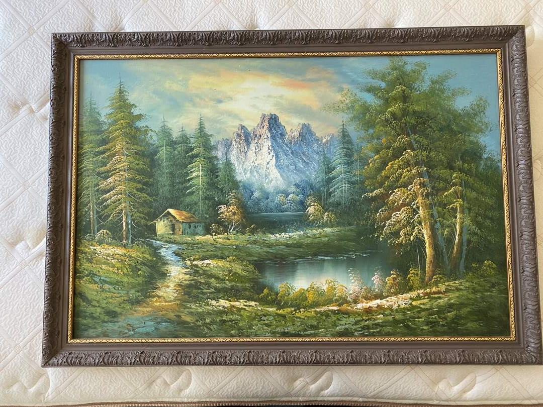 Lot # 144 - FRAMED ART (main image)