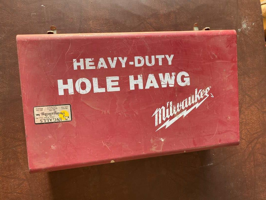 Lot # 240 - MILWAUKEE HOLE HAWG (main image)