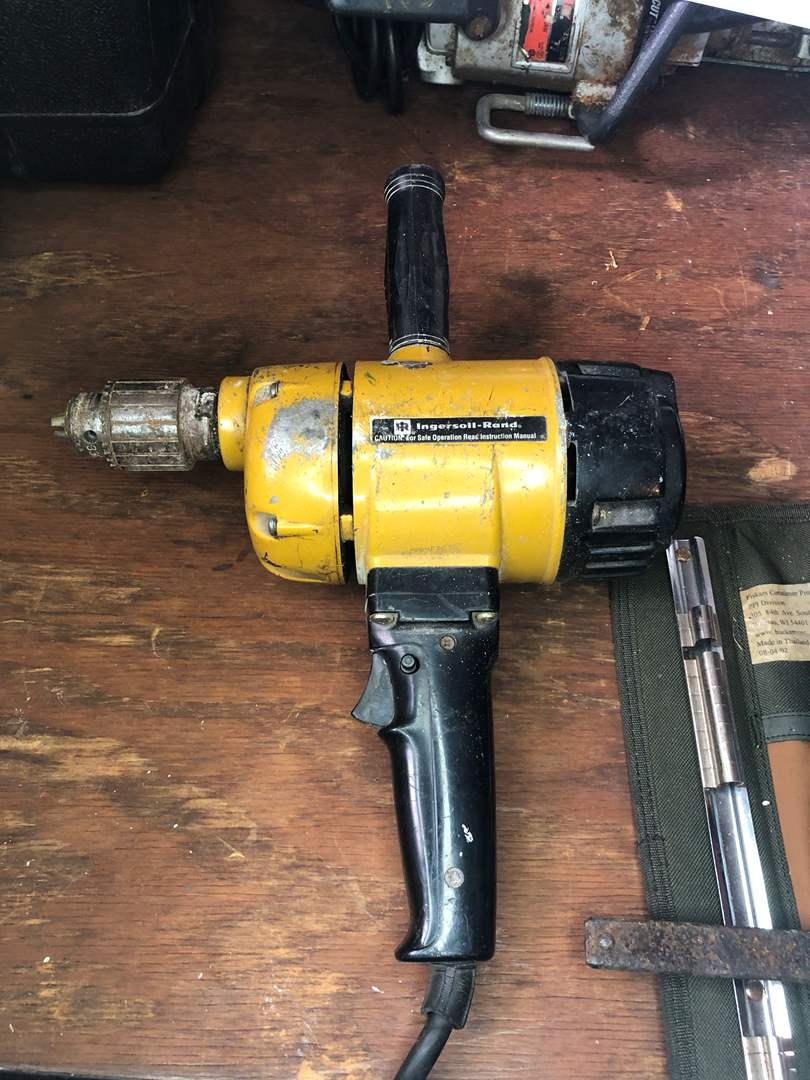 Lot # 6 - INGERSOLL-RAND 1/2 INCH POWER DRILL (main image)