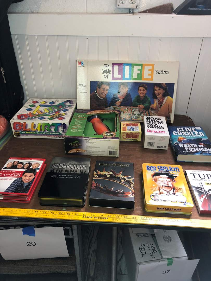 Lot # 39 - GAMES AND DVDS (main image)
