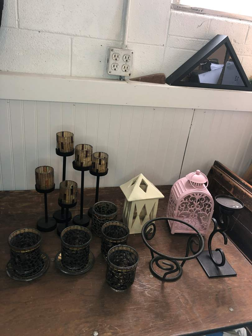 Lot # 67 - CANDLE HOLDERS (main image)