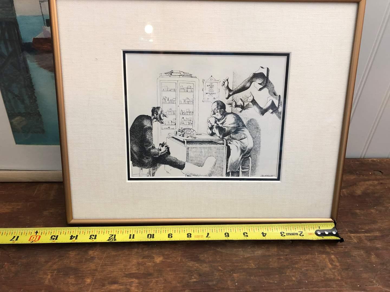 Lot # 89 - CLAUDE SERRE ART WORK UNKNOWN  (main image)