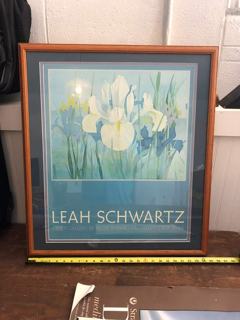 Lot # 92 - LEAH SCHWARTZ ART  (main image)